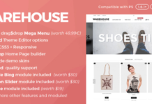 Warehouse - Responsive Prestashop 1.6 Theme and Blog